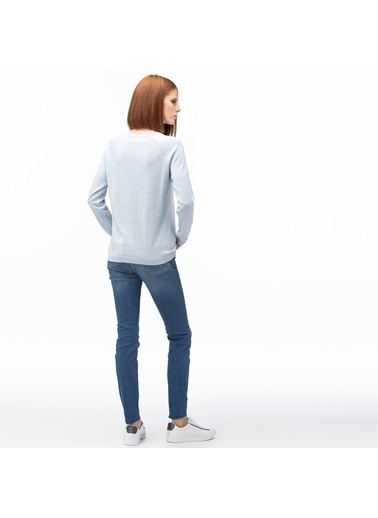 Lacoste Kadın Denim Pantolon HF0005.05M Lacivert